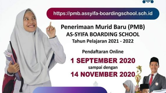 [UPDATE] Full Online Penerimaan Murid Baru Assyifa Boarding School 2021