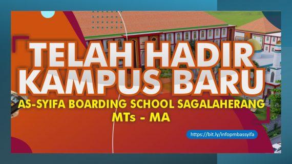 Inilah Tampilan Arsitektur Lanskap Kampus Baru Assyifa Boarding School Sagalaherang Subang